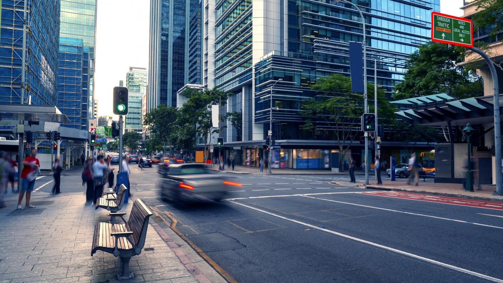 Brisbane Australien Queen Street