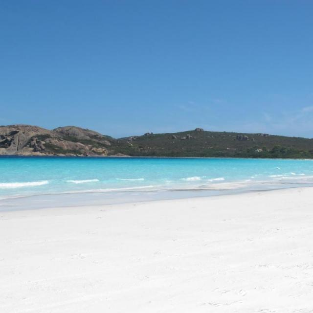 Lucky Bay in Western Australia