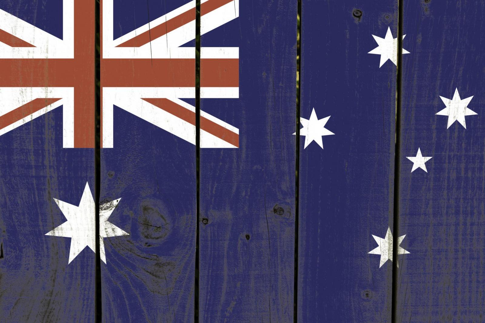 Visum Australien Flagge