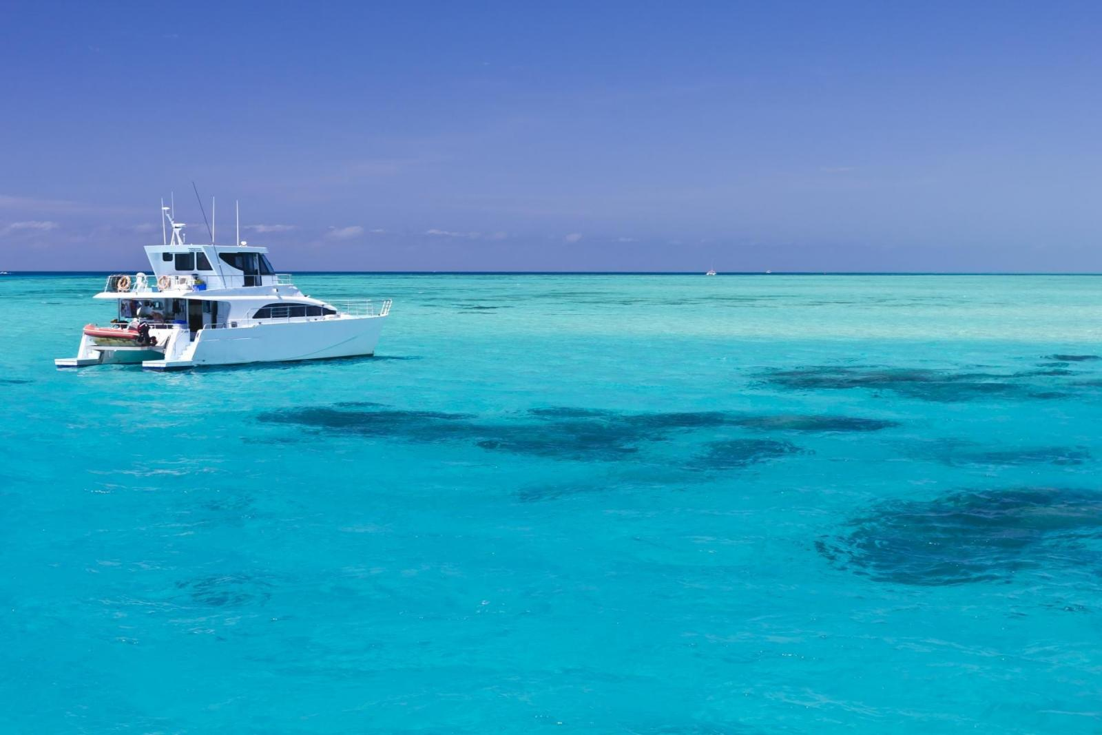 Beispiel Boot Whitsunday Island Insel Hopper-Pass
