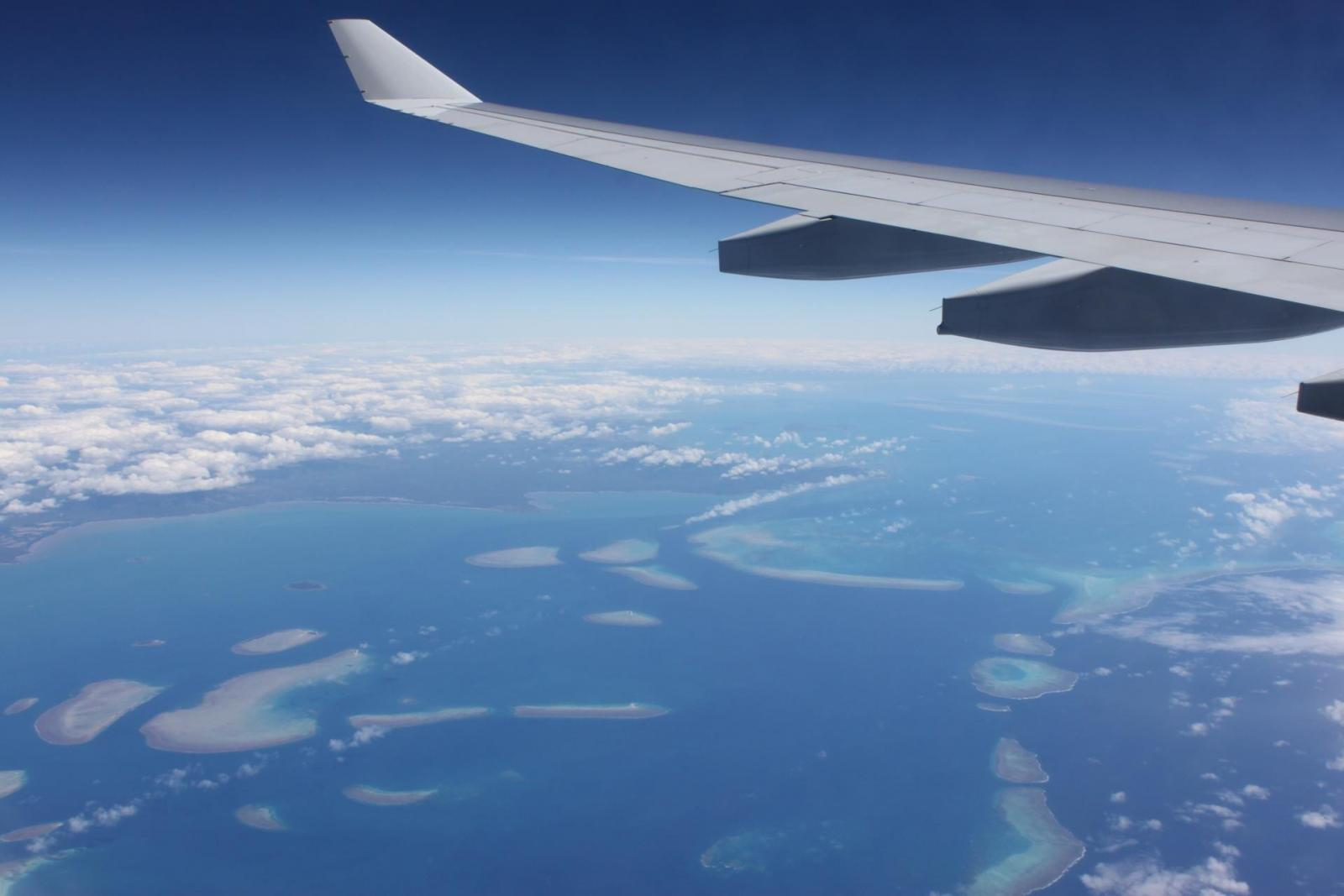 Mit dem Flugzeug durch Australien Reisen