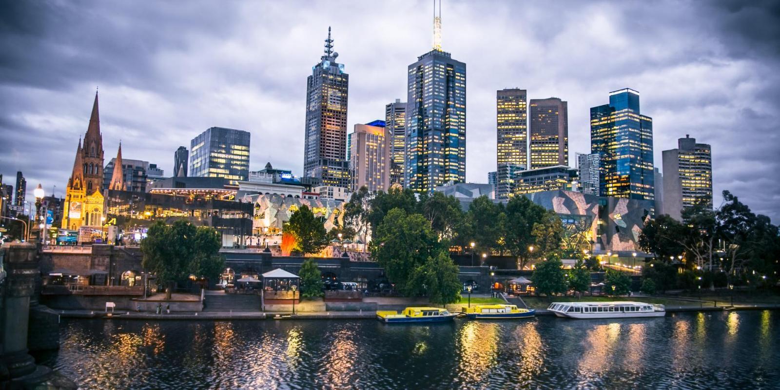 Melbourne Einwohner