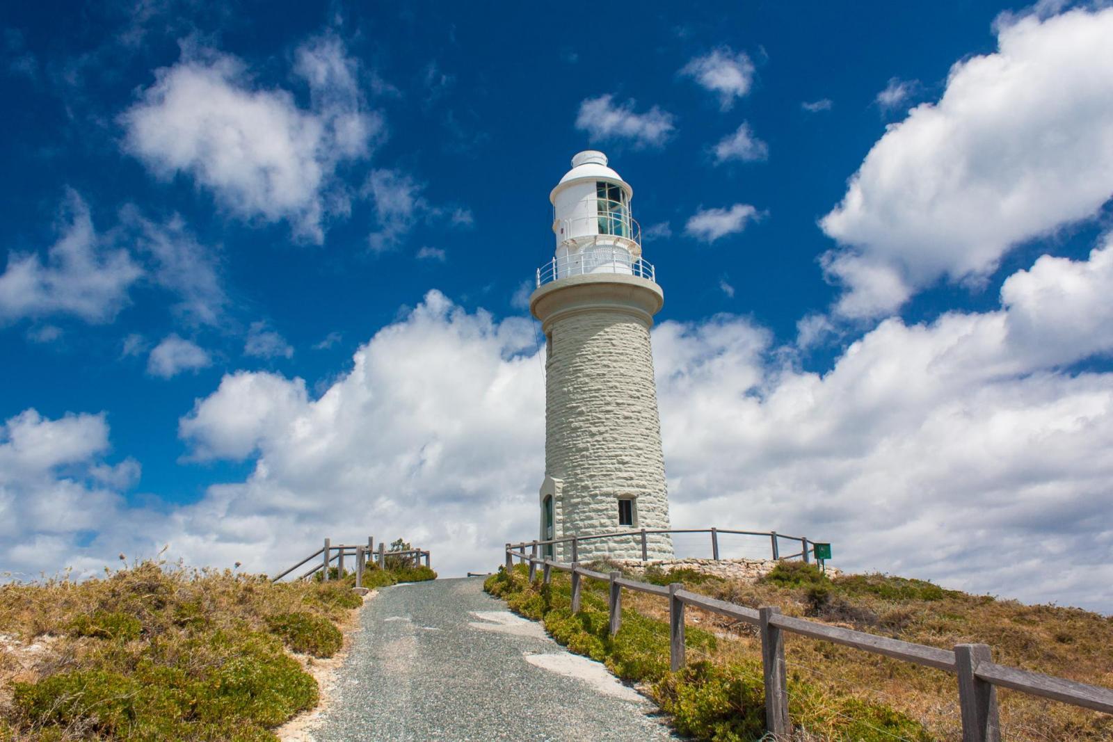 Leuchtturm auf Rottnest Island