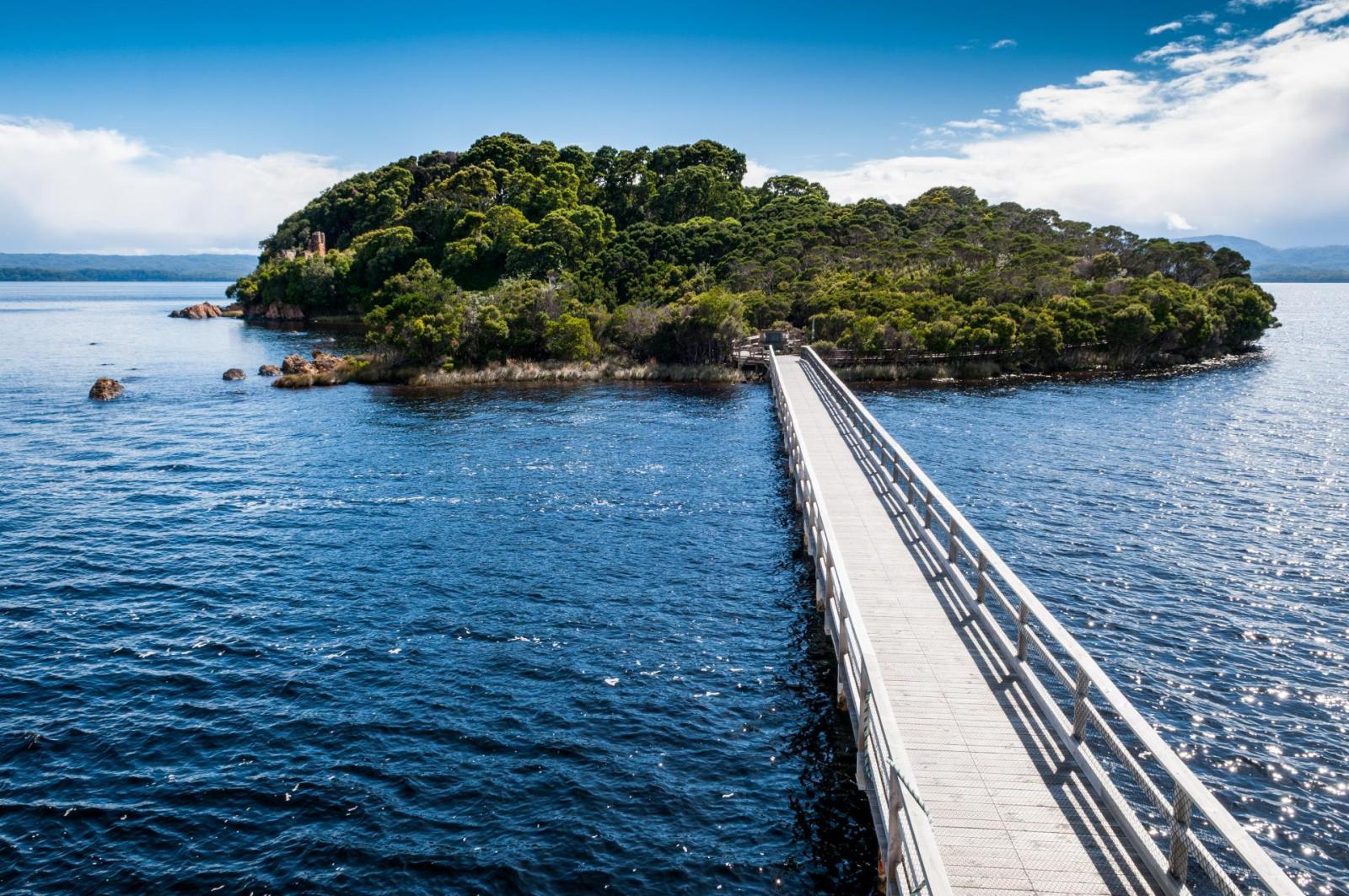 Strahan Sarah Island Tasmanien