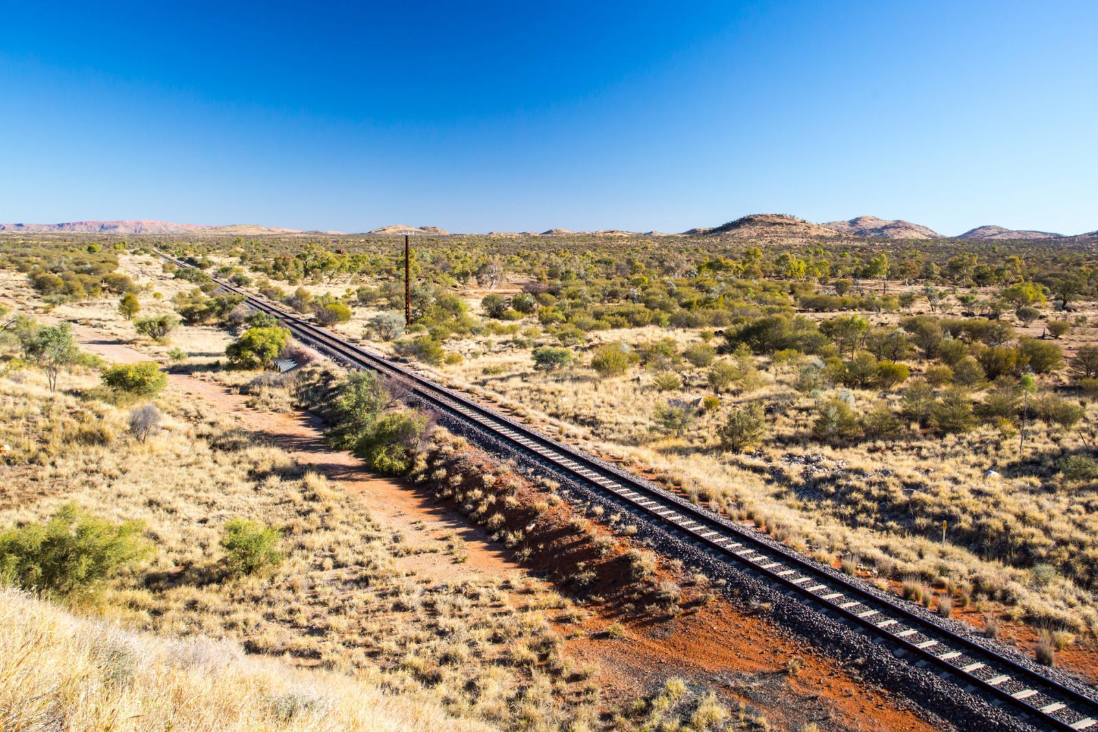 Mit der Bahn durch Australien reisen