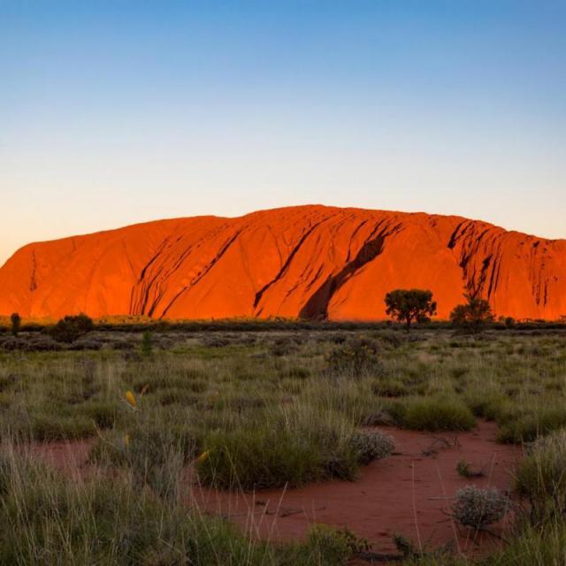 Uluru – Ayers Rock – in Australien: der bekannteste Monolith der Welt