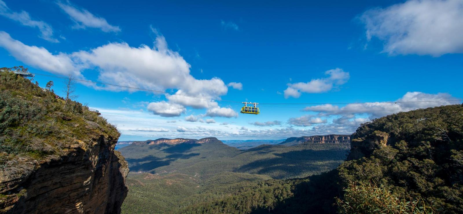 Tagestour in die Blue Mountains