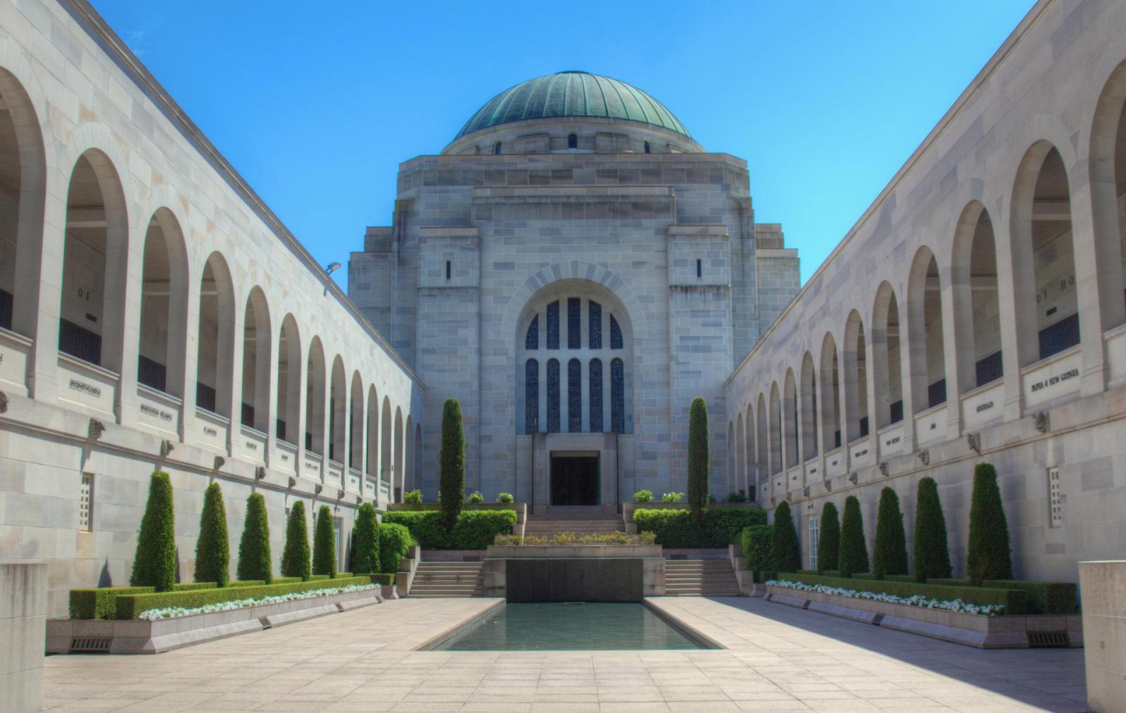 War Memorial Canberra Australien