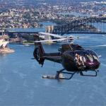 Helikopterflug in Sydney