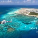 Helikopterflug in Port Douglas