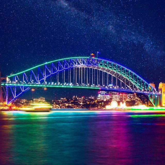 Das Vivid Sydney Festival