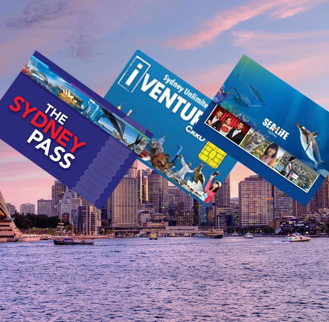 Vergleich des Sydney Explorer Pass, Sydney Attractions Pass und des Attraktionspasses für Sydney