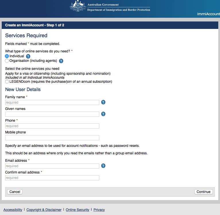Working Holiday Visum Australien