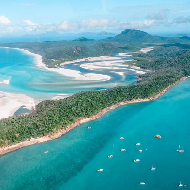 Mit dem Wasserflugzeug zum Great Barrier Reef