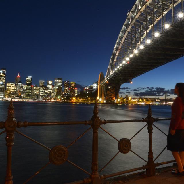 Sydney im Februar